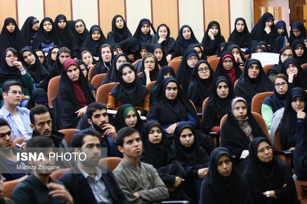 سخنرانی استاد حسن عباسی در دانشگاه صنعتی اصفهان - تقابل دو مکتب؛ نگاه به بیرون، نگاه به درون