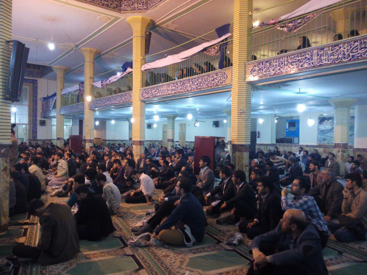 سخنرانی استاد حسن عباسی در مصلی قدس الیگودرز - رسالت خواص در دوران غیبت امام زمان (عج)