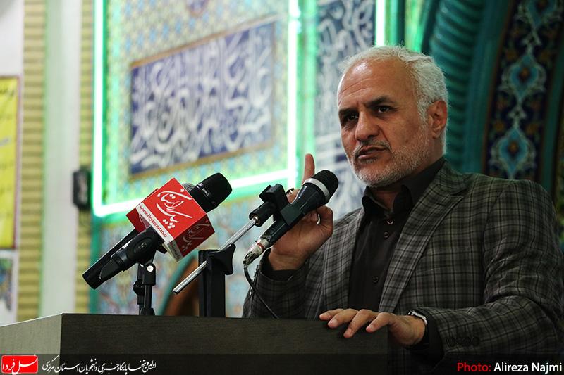 سخنرانی استاد حسن عباسی در مسجد الزهرا(س) اراک - اقتصاد مقاومتی و انتخاب دوازدهم