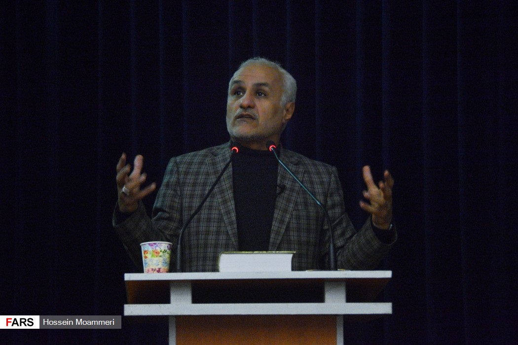 سخنرانی استاد حسن عباسی در دانشگاه بجنورد - چهل سالگی انقلاب اسلامی و دهه پنجم انقلاب