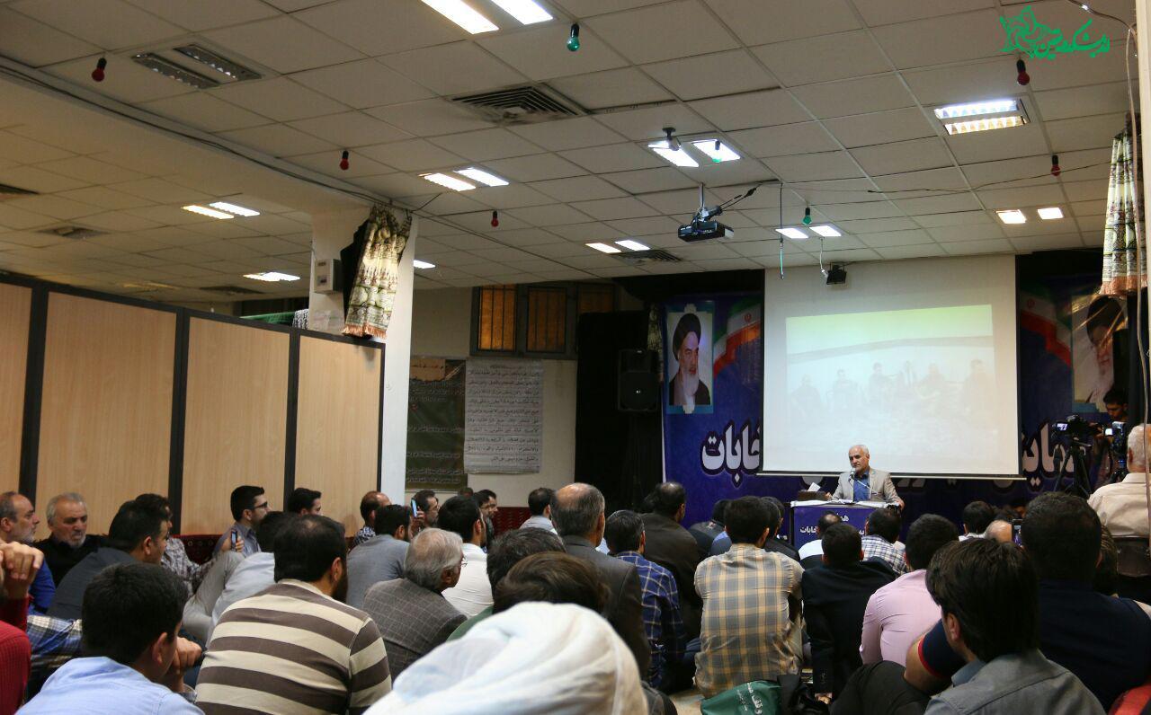 سخنرانی استاد حسن عباسی در مسجد صادق آل محمد (ص) - سایه روشنهای انتخابات