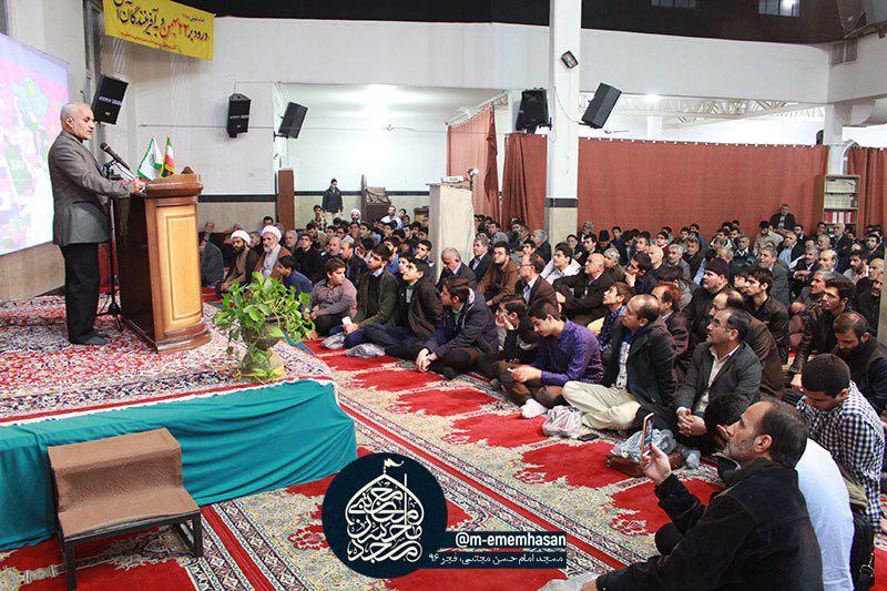 سخنرانی استاد حسن عباسی در مشیریه تهران - چهل سالگی جمهوری و دهه پنجم انقلاب