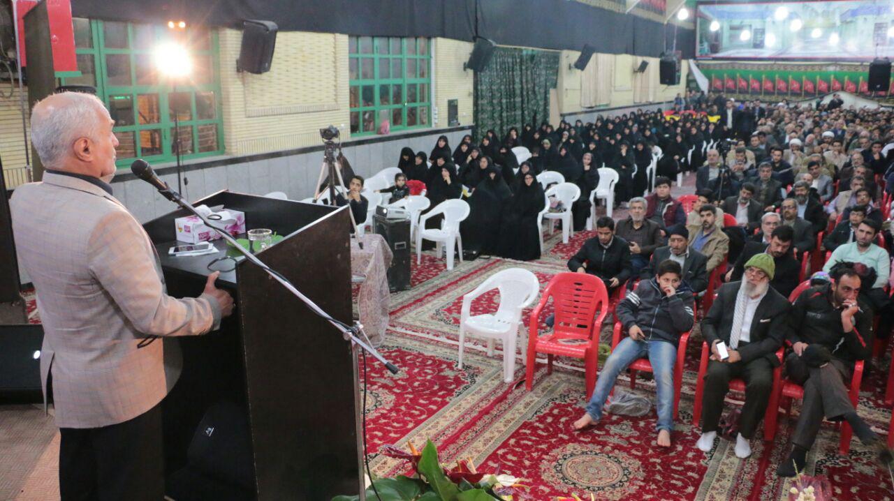 سخنرانی استاد حسن عباسی در حسینیه ثارالله ورامین- بزرگداشت حماسه نهم دی