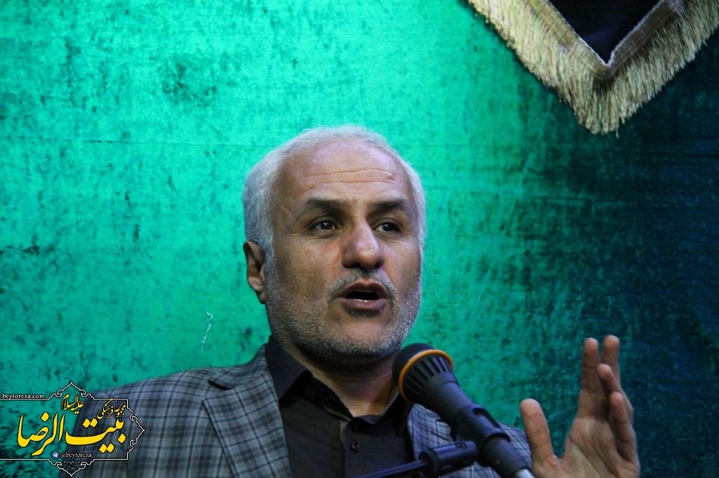 سخنرانی استاد حسن عباسی در شهرک مسعودیه تهران - … و باز جهاد کبیر