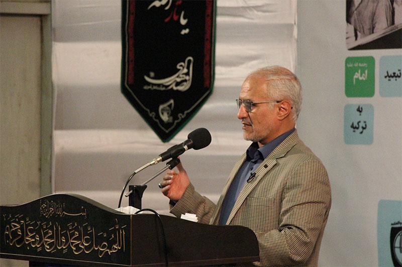سخنرانی استاد حسن عباسی در اتحادیه انجمنهای اسلامی دانشآموزان یزد - جهان بدون تروریسم