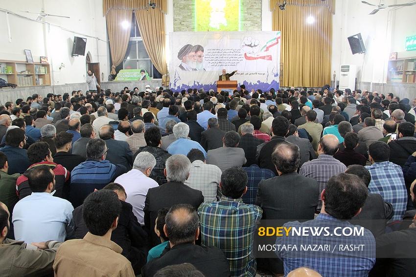 سخنرانی استاد حسن عباسی در مسجد فاطمه الزهرا (س) رشت - دهه پنجم انقلاب اسلامی؛ بیمها و امیدها