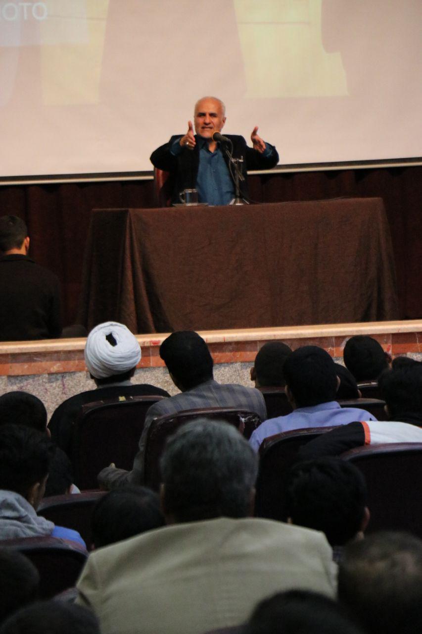 IMG 970724%20%286%29 نقل از تصویری؛ سخنرانی استاد حسن عباسی با موضوع زندگی دوم، جامعه دوم