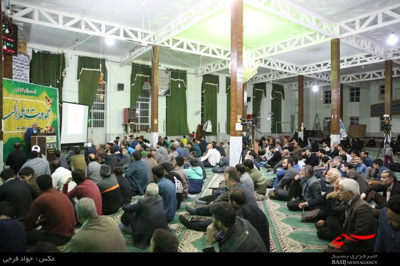 سخنرانی استاد حسن عباسی در مسجد علیابنابیطالب(ع) اراک - مهدویت و عهد الست
