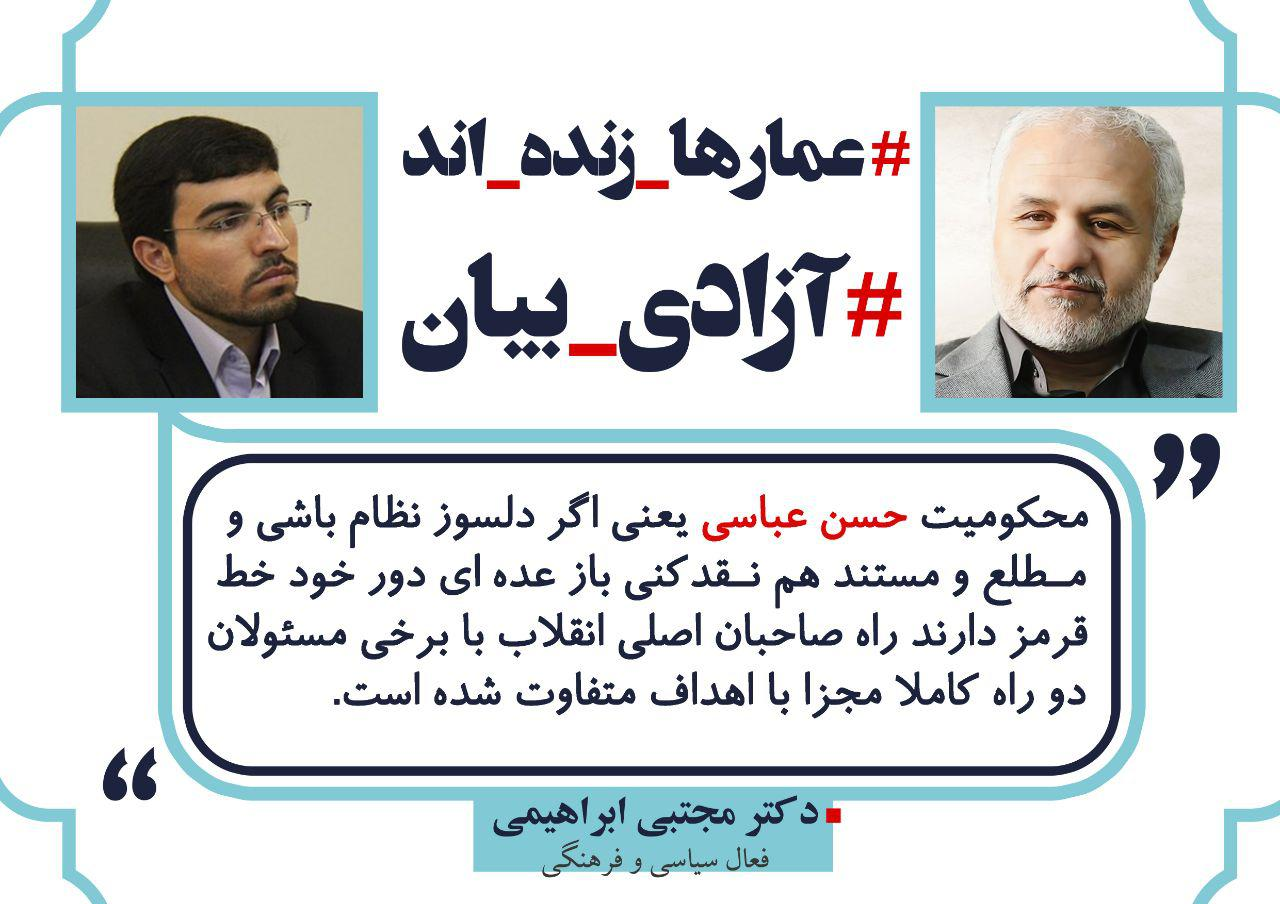 photo 04 19 مواضع جمعی از اهالی هنر و همچنين رسانه انقلاب در خصوص حکم حبس استاد حسن عباسی