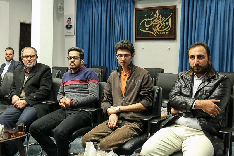 دیدار استاد حسن عباسی با آیتالله عبدالکریم عابدینی