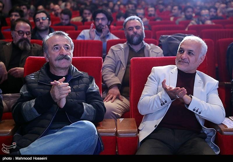 IMG 971124%20%286%29 نقل از تصویری؛ سخنرانی استاد حسن عباسی در اختتامیه پنجمین جشنواره هنر مقاومت