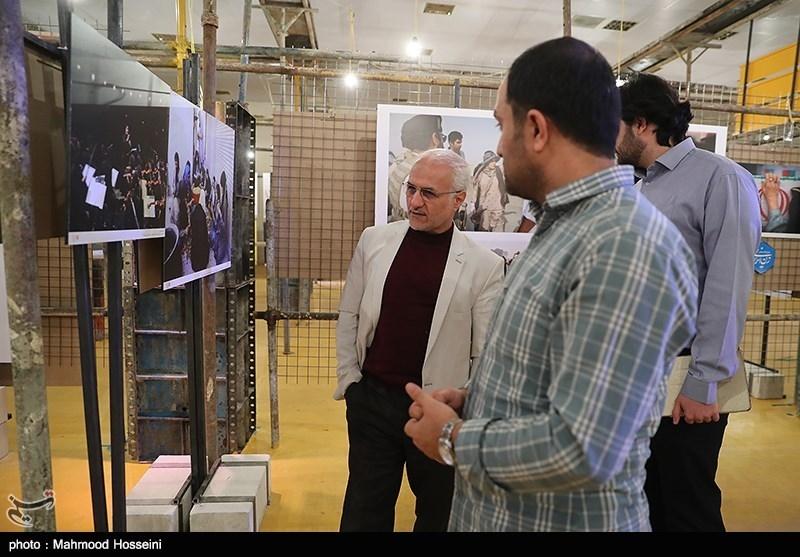 IMG 971124%20%289%29 نقل از تصویری؛ سخنرانی استاد حسن عباسی در اختتامیه پنجمین جشنواره هنر مقاومت