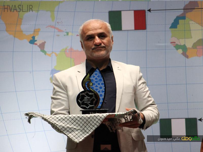 IMG 970928%20%281%29 نقل از تصویری؛ سخنرانی استاد حسن عباسی در سومین اجلاس ملی اصحاب عشق