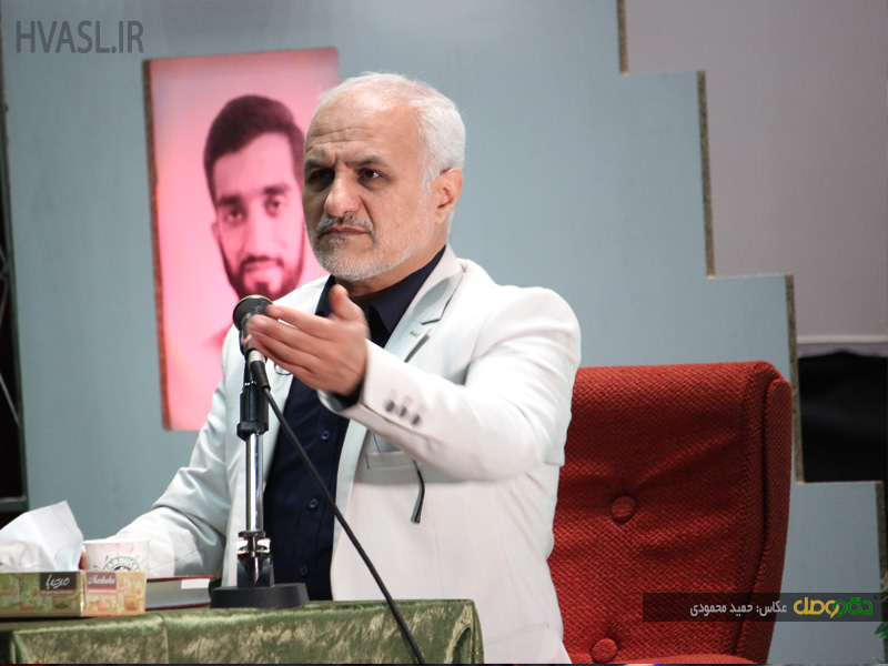 IMG 970928%20%2812%29 نقل از تصویری؛ سخنرانی استاد حسن عباسی در سومین اجلاس ملی اصحاب عشق