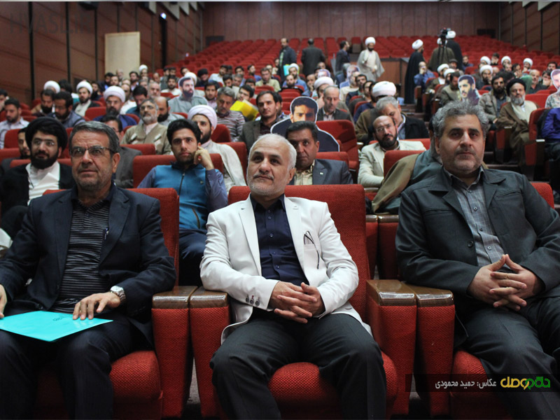 IMG 970928%20%288%29 نقل از تصویری؛ سخنرانی استاد حسن عباسی در سومین اجلاس ملی اصحاب عشق