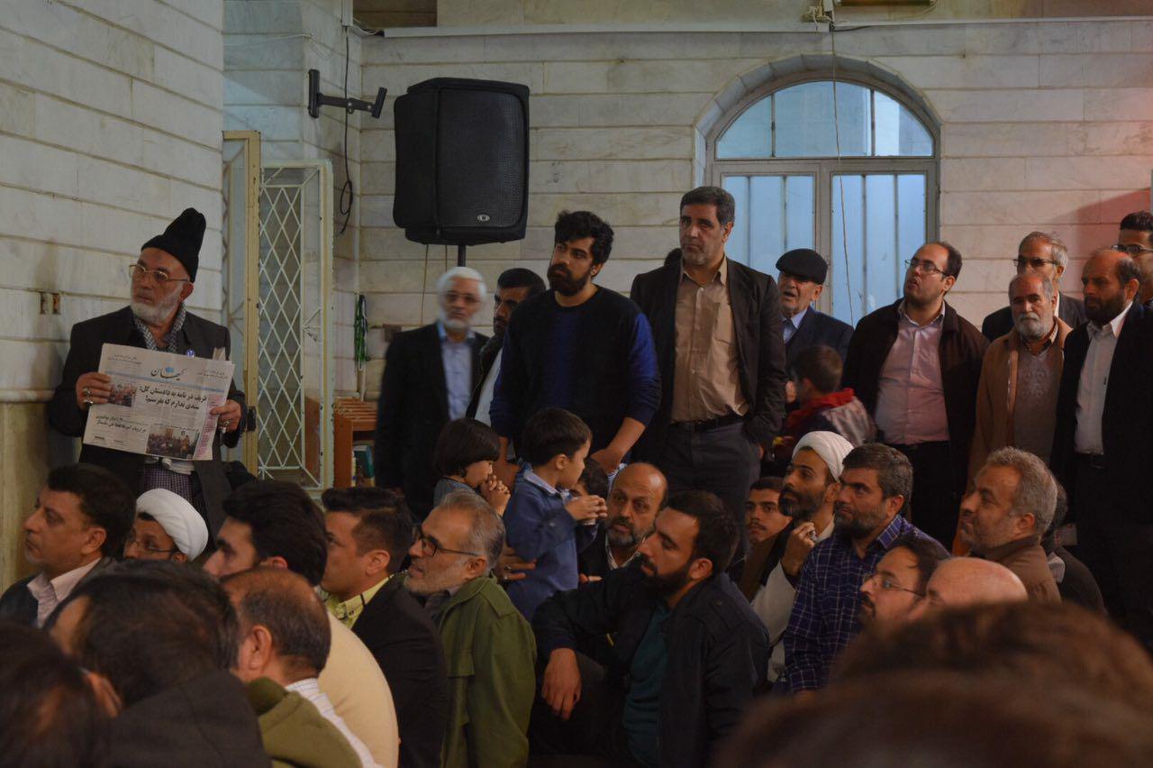 IMG 970910%20%285%29 نقل از تصویری؛ سخنرانی استاد حسن عباسی با موضوع ویژه برنامه جذاب و جالب و خوب هفته وحدت و همچنين بسیج