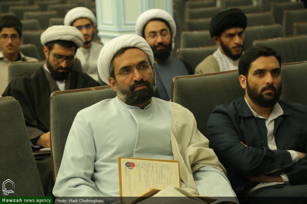 سخنرانی استاد حسن عباسی در موسسه آموزشی و پژوهشی امام خمینی(ره) قم - طلاب نخبه و تمدنسازی