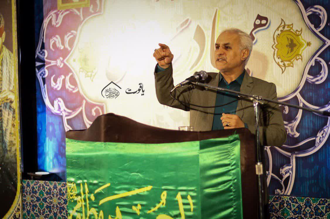 IMG 980504%20%281%29 نقل از تصویری؛ سخنرانی استاد حسن عباسی با موضوع ما و همچنين شهدا