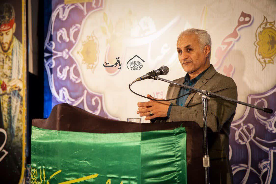 IMG 980504%20%287%29 نقل از تصویری؛ سخنرانی استاد حسن عباسی با موضوع ما و همچنين شهدا