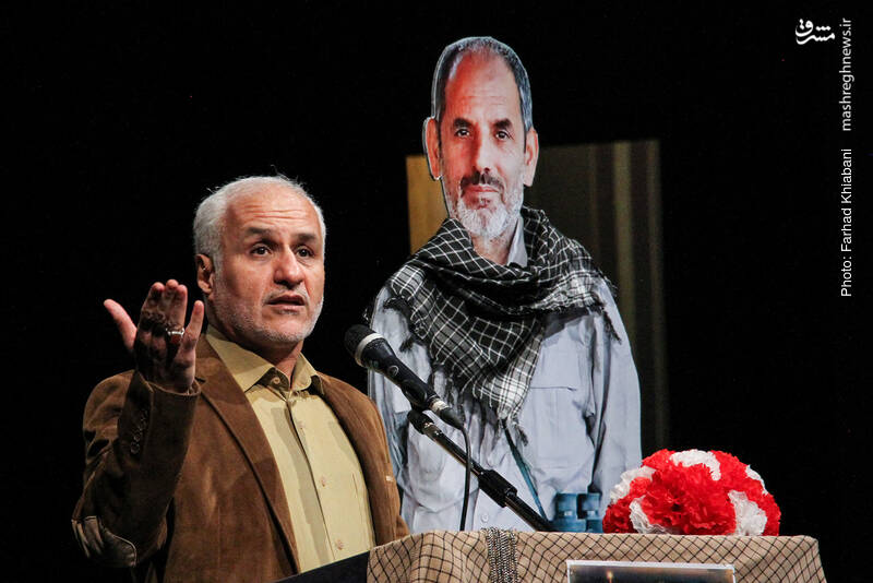 IMG 980327%20%2816%29 نقل از تصویری؛ سخنرانی استاد حسن عباسی در دومین سالگرد شهادت سردار شهید شعبان نصیری