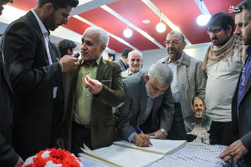 IMG 980327%20%2817%29 نقل از تصویری؛ سخنرانی استاد حسن عباسی در دومین سالگرد شهادت سردار شهید شعبان نصیری