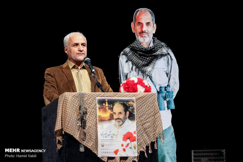 IMG 980327%20%2819%29 نقل از تصویری؛ سخنرانی استاد حسن عباسی در دومین سالگرد شهادت سردار شهید شعبان نصیری