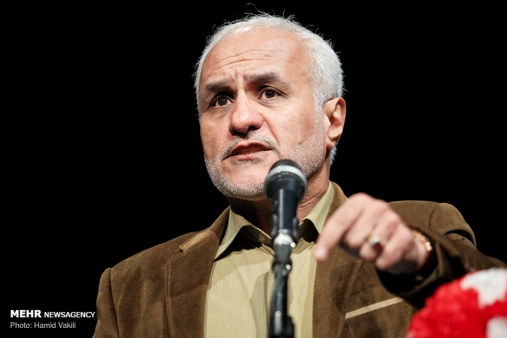 IMG 980327%20%2820%29 نقل از تصویری؛ سخنرانی استاد حسن عباسی در دومین سالگرد شهادت سردار شهید شعبان نصیری