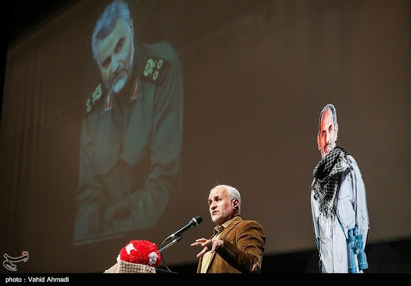 IMG 980327%20%2830%29 نقل از تصویری؛ سخنرانی استاد حسن عباسی در دومین سالگرد شهادت سردار شهید شعبان نصیری
